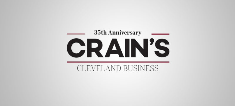 Crain's Cleveland Business Highlights Susan Petersen in Forty under Forty