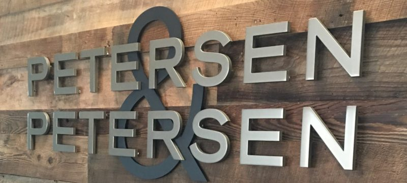 PETERSEN & PETERSEN OPENS NEW DOORS